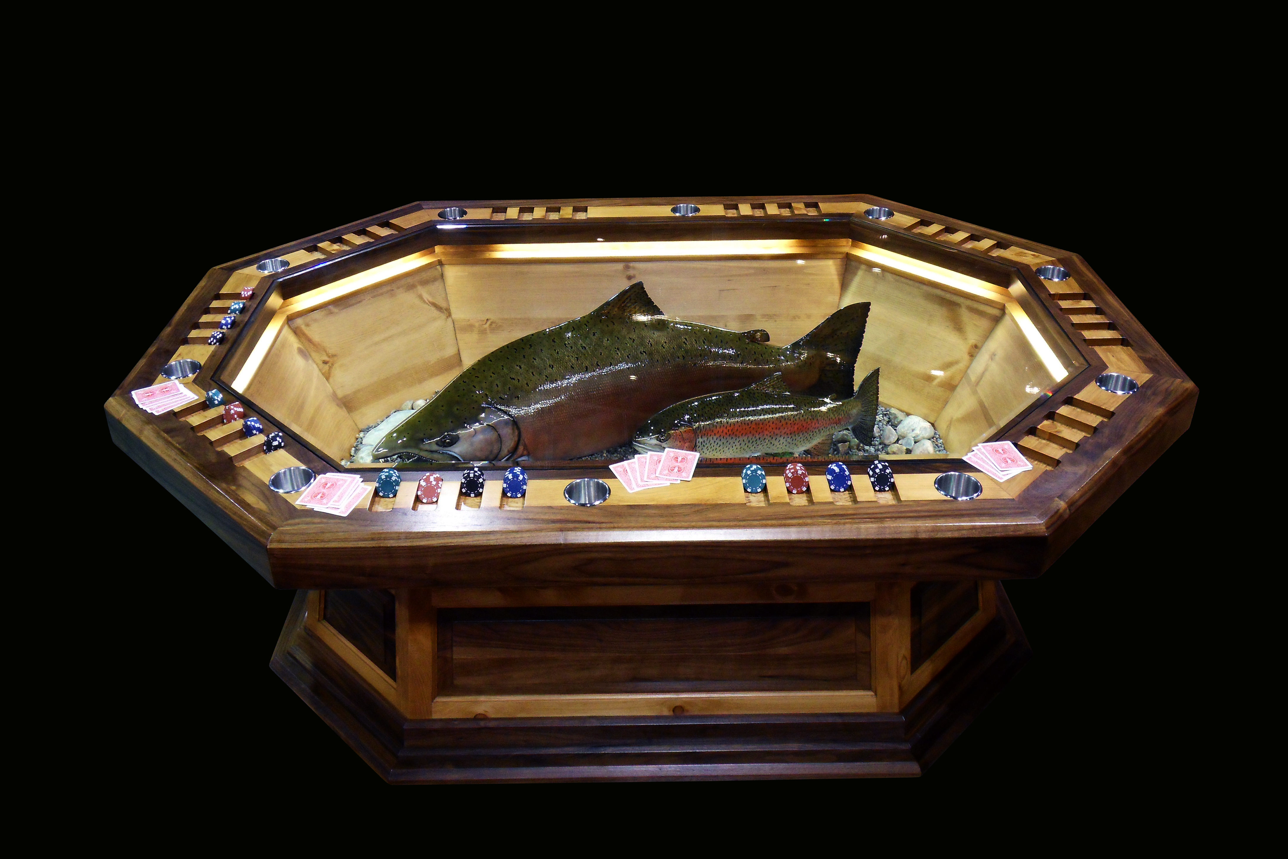 Chinook Salmon and Steelhead Salmon
